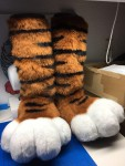 [YES] Streifi Knee-high Sockpaws by Alpha Dogs